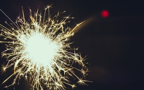 Picture lights, comfort, new year, Bengal, fireworks