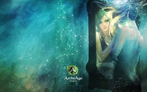 Picture reflection, elf, the game, mirror, art, girl, game, online, art, reflection, mmorpg, Elf, mirror, MMORPG, …