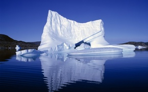 Picture ice, white, snow, blue, iceberg