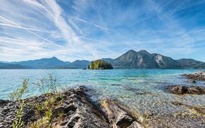 Picture landscape, mountains, nature, lake, Alps