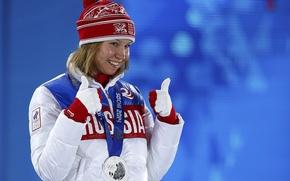 Picture Russia, skates, Sochi 2014, The XXII Winter Olympic Games, Olga Fatkulina, high speed run