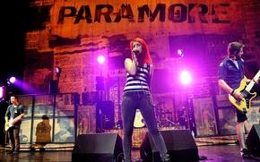 Picture music, music, concert, paramore, williams, hayley, pop-rock, Haley, josh, Williams, farro, davis, pop-rock, jeremy