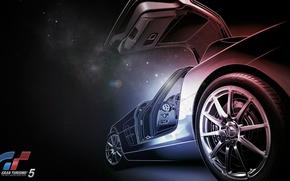 Picture car, mercedes, game, supercar, Gran turismo 5