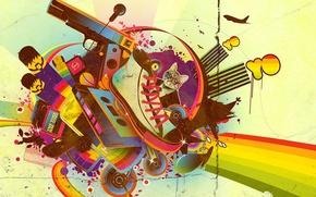 Wallpaper style, Hip hop, vector