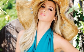 Picture look, model, hat, makeup, actress, hairstyle, blonde, photographer, singer, journal, Ashley Tisdale, Ashley Tisdale, Maniac, …