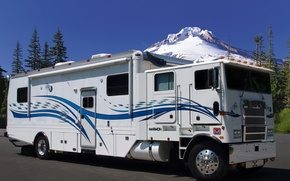 Picture caravan, Marmon, Motorhome