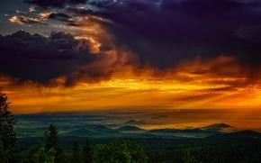 Picture United States, Arizona, Apache, Greens Peak