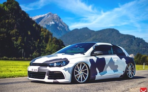 Picture Volkswagen, Vossen, on CVT, Scirocco r, by Eccentrical