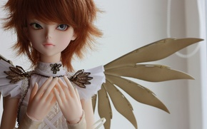 Picture doll, red hair, doll, BJD