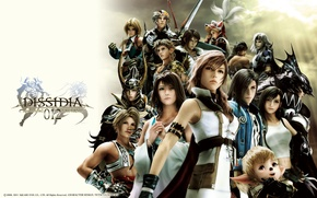 Picture Final Fantasy, fighting game, PlayStation, Dissidia, FF12