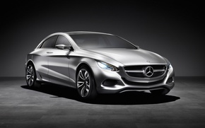 Wallpaper Mercedes-Benz, the concept, metallic, F800