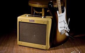Picture Guitar, Rock, Rock, Guitar, Fender, Fender