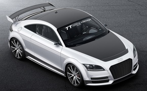 Picture auto, Concept, Audi, the hood, the front, ultra four