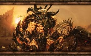 Picture Games, Diablo, Honnoror, Barbarian