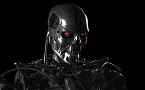 Wallpaper terminator, robot, cyborg