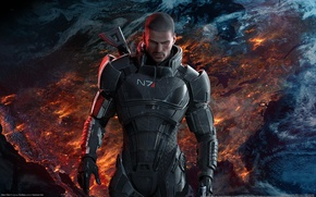Picture captain, Mass Effect, Shepard