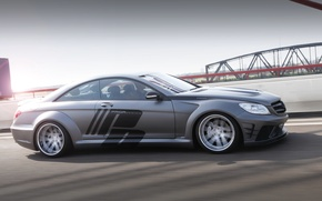 Picture Mercedes-Benz, muscle, tuning, power, amg, speed, germany, low, Prior Design, stance, Widebody V2