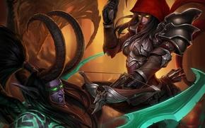 Picture diablo, warcraft, Demon Hunter, Heroes of the Storm, illidan stormrage, Valla