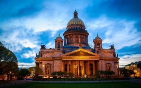 Picture The city, St. Isaac's Cathedral, Saint Petersburg