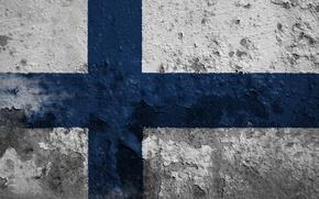Picture flag, Finland, Finland