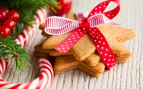 Picture holiday, New Year, cookies, Christmas, lollipops, Christmas, New Year