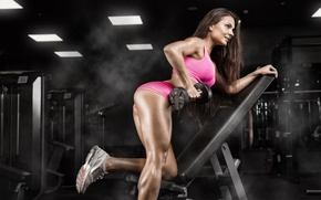 Picture pose, workout, fitness, gym, fitness model, hard work