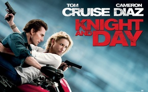 Picture Tom Cruise, Tom Cruise, Cameron Diaz, Cameron Diaz, Knight and Day, Knight and day