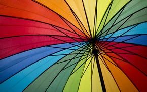Picture color, umbrella, colors, umbrella