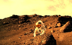 Picture Astronaut, Mars, NASA, NASA, Haughton–Mars Project, Pascal Lee, Pascal Lee