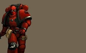 Picture warhammer, Deadpool, Deadpool, MARVEL, 40K, Wade Wilson