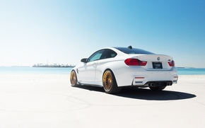Picture car, white, BMW M4