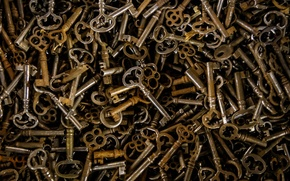 Picture background, texture, keys