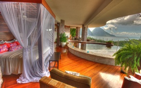Picture interior, Saint Lucia, Jade Mountain Resort