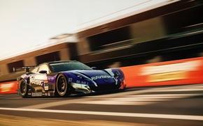 Picture speed, track, Honda