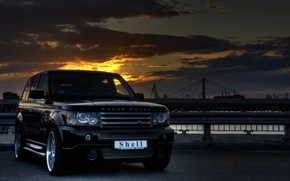 Wallpaper Range Rover, HDR, Landscape, Shell, The sky