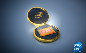 Wallpaper Core i7, Intel, Jewellery Box