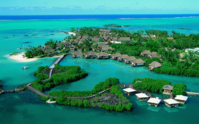 Wallpaper resort, Caribbean, Mauritius, Mauritius, Constance Le Prince Maurice
