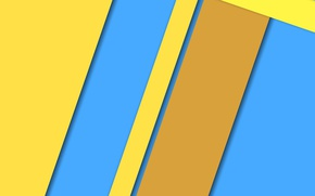 Picture yellow, strip, blue, design, color, material