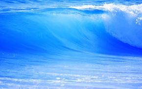 Wallpaper sea, wave, water, freshness, nature, the ocean, waves, fresh, sea, ocean, nature, water, 2560x1600