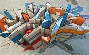 Picture style, patterns, graffiti