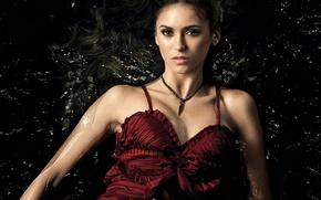 Picture girl, actress, brunette, Nina Dobrev, Nina Dobrev, The vampire diaries, The vampire diaries