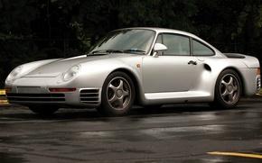 Picture supercar, Porsche 959, designer Luigi Colani, group B