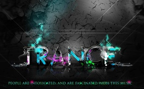 Wallpaper style, TRANS, style, trance