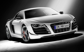 Picture power, Audi R8 GT, license plate