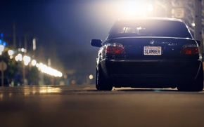 Picture ass, the evening, Boomer, seven, e38, bumer, bmw 740, Dylan Leff