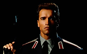 Picture classic, uniform, Arnold Schwarzenegger, Red heat, Red Heat