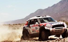 Picture Mini, Mountains, Day, Mini Cooper, Rally, Dakar, SUV, Rally, Mini, X-raid, 304