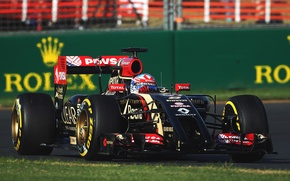 Picture Lotus, Formula 1, E22, Romain Grosjean