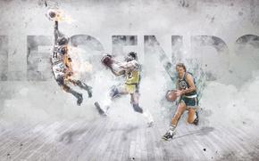 Picture Sport, Basketball, Michael Jordan, Chicago, Boston, Los Angeles, NBA, Michael Jordan, Lakers, Bulls, Celtics, Larry …