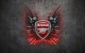 Picture arsenal, weapon, football, fanart